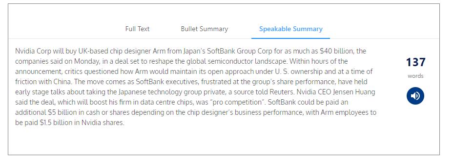 softbank記事 Speakableの例