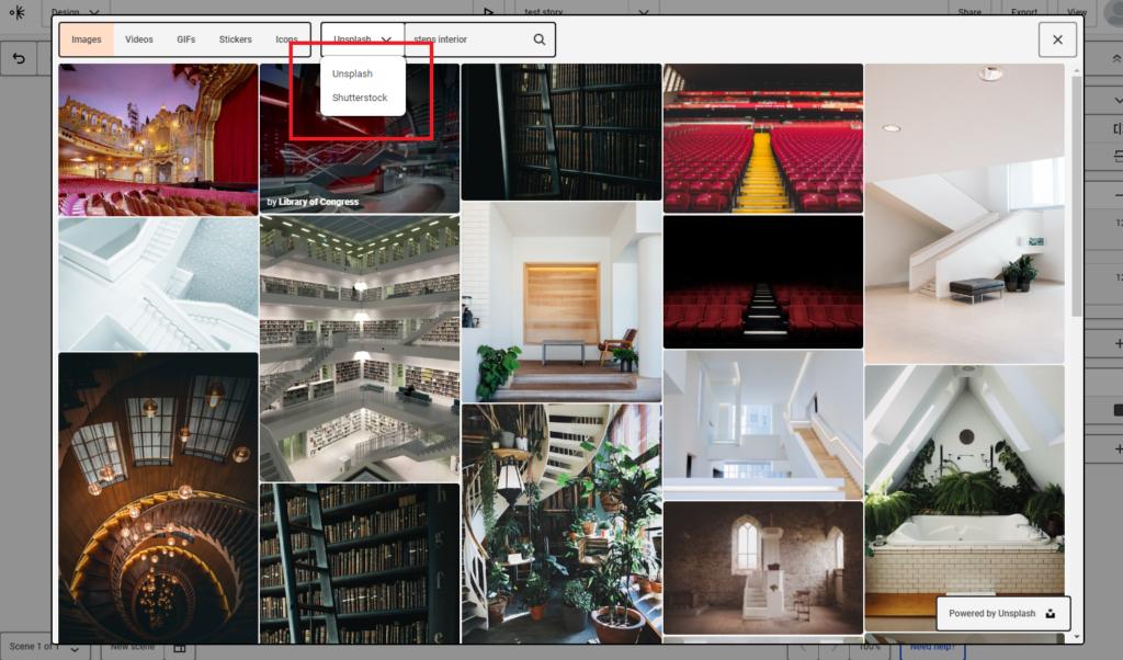 大手画像公開サイトの写真を利用可能