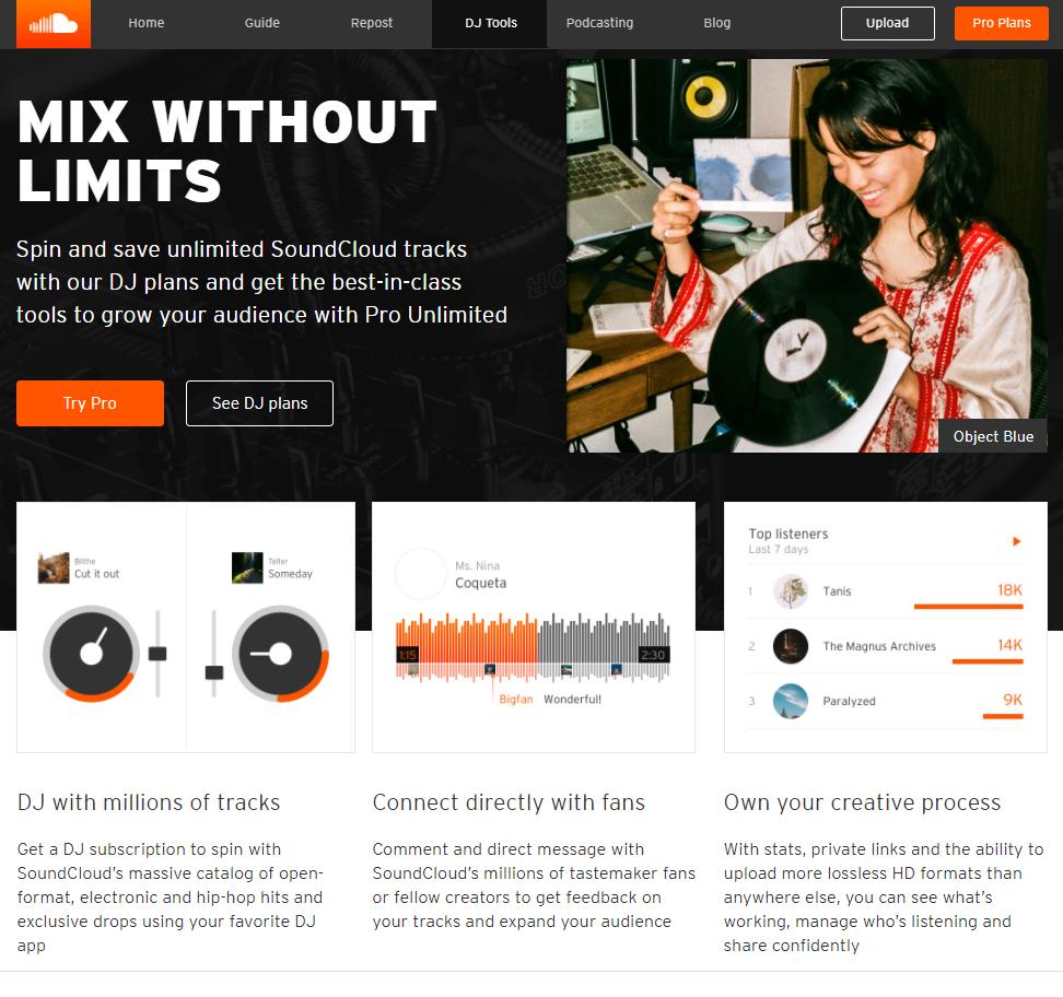 soundcloud-DJ tool