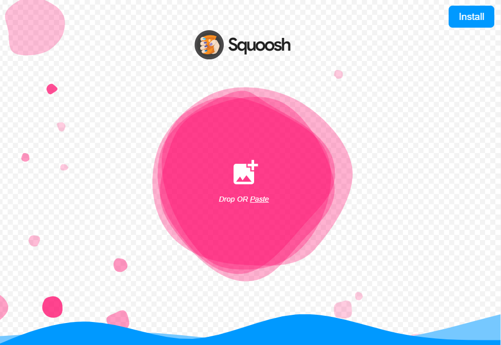 squoosh-トップ画面